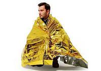 Спасательное одеяло, термо одеяло, термоодеяло, изотермическое одеяло, одеяло походное, ко 5000784