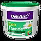 """Краска фасадная """"Eco Facade"""" ТМ """"DekArt"""" белый матовый 1,2 кг"""