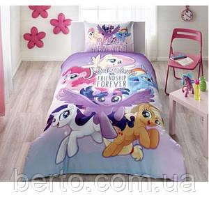 Постельное белье Tac Disney - Little Pony Movie подростковое