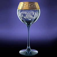 "Набор бокалов для вина (6шт/280 мл) ""Греческий узор"" Эдем GE01-1688"