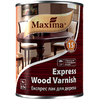 """Экспресс лак для дерева """"Express wood varnish"""" ТМ """"Maxima"""" бесцветный матовый 2,5 л"""