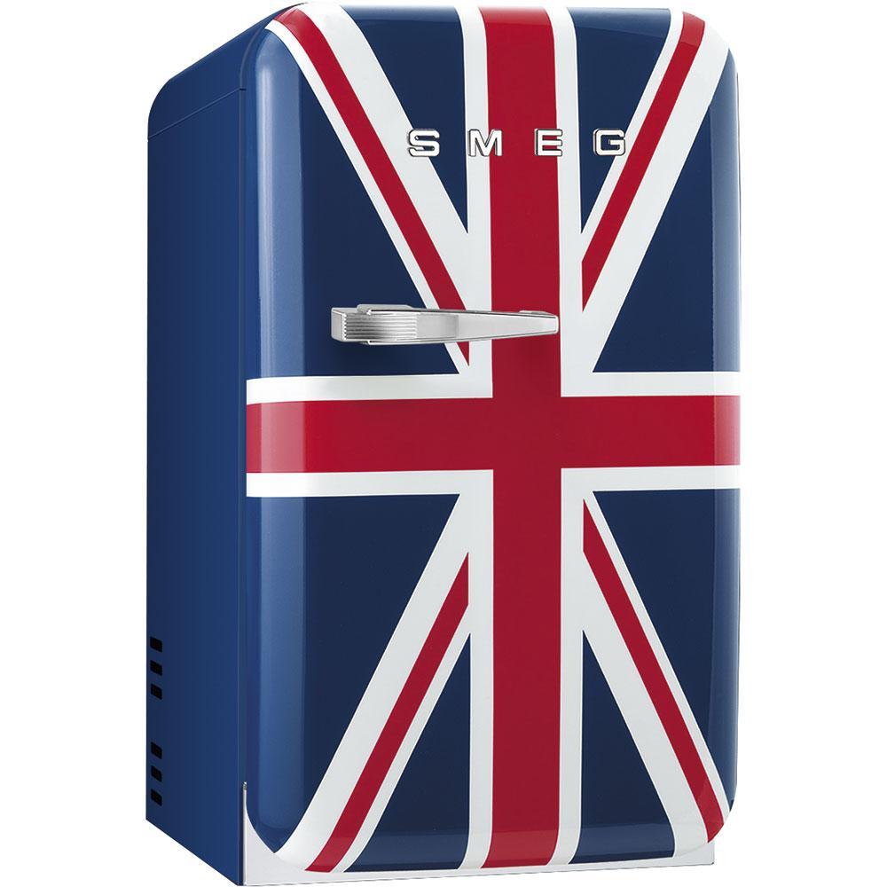 Отдельностоящий мини-бар, стиль 50-х годов Smeg FAB5RDUJ3 британский флаг