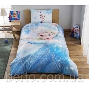 Постельное белье Tac Disney - Frozen Glitter 160*220 подростковое