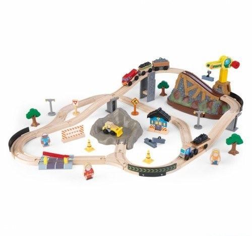 Игровой набор Железная дорога KidKraft Горная стройка 17805