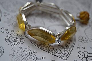 Массивный браслет с камнями Pilgrim, фото 2