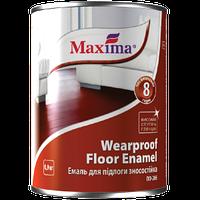 """Эмаль алкидная ПФ-266 """"Wearproof floor enamel"""" ТМ """"Maxima"""" красно-коричневый 2,8 кг, фото 1"""