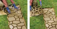 ТОП ВИБІР! Форма для виробництва доріжок «Садова доріжка» 40х40х4см.