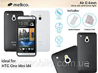 Чехол для HTC One Mini M4 - Melkco Air PP 0.4 mm cover case, разные цвета