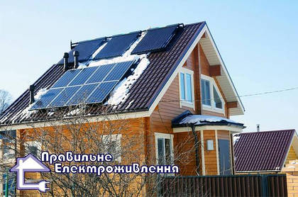 Сонячні батареї, чи страшні град, сніг і вітер?