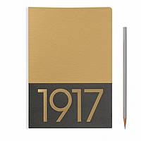 Блокнот Leuchtturm1917 JottBook Limited Средний (A5) Золотой с Чистыми листами (2 шт) (14,5х21 см) (355531), фото 1