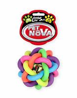 Игрушка для собак Путанка с колокольчиком PetNova 10.5 см