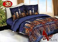 Комплект постельного белья 3D PS-HL278 семейный (TAG polysatin-016/с)