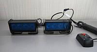 Стробоскоп светодиодный синий Led 10 комлект