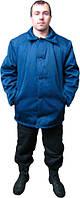 Куртка утепленная ватная, рабочая, мужская, фуфайка