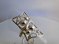 Стильный серебряный перстень