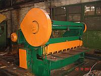Гильотинные ножницы Н 3118, =6,3х2000мм в рабочем состоянии, фото 1
