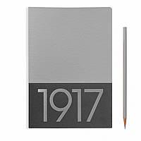 Блокнот Leuchtturm1917 JottBook Limited Средний (A5) Серебряный с Чистыми листами (2 шт) (14,5х21 см) (355535), фото 1