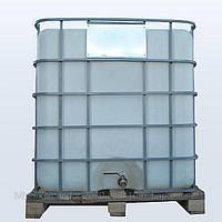 Емкость квадратная в решетке с металлическим краном