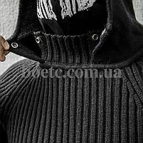Свитер с капюшоном СТРЕЛОК (BLACK), фото 3