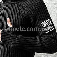 Свитер с капюшоном СТРЕЛОК (BLACK), фото 4