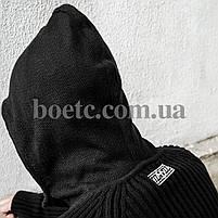 Свитер с капюшоном СТРЕЛОК (BLACK), фото 5