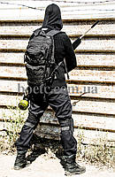 Свитер с капюшоном СТРЕЛОК (BLACK), фото 6