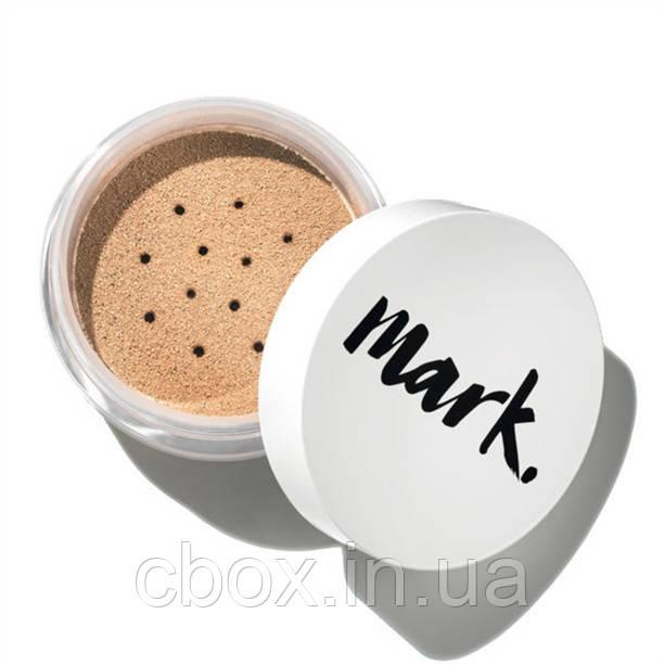 Минеральная рассыпчатая пудра для лица,  Avon Mark, цвет Porcelain Doll, Фарфоровая, Эйвон Марк, 46867