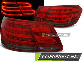 Фонари задние тюнинг оптика стопы Mercedes Benz W212 красно-тонированные