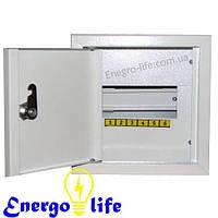 Шкаф монтажный ШМР-6В на 6 модулей внутренний, для установки низковольтной модульной автоматики до 100 Ампер