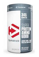 Купить аминокислоты Dymatize Nutrition Super Amino 6000  345 tabs