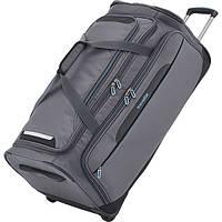Дорожная сумка из текстиля на двух колесиках  117 л.Travelite Crosslite TL089501-04, антрацит