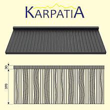 Модульная металлочерепица Карпатия Pruszynski