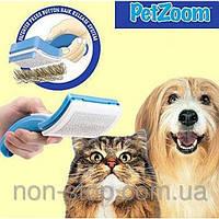 Pet Zoom, Пет Зум, расческа для вычесывания собак, расческа для вычесывания кошек, расческ 4000331
