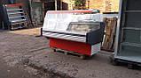 Витрина холодильная 1,55 м.  б/у., витрина бу , фото 2