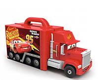 Автомастерская-грузовик Smoby Mack в чемодане и Молния Mc Queen (360146)