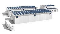 Промышленная сетевая солнечная станция под зеленый тариф мощностью 30 кВт