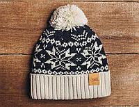 Зимняя шапка Staff с помпоном KS0005-1