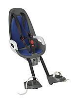 Велокресло детское HAMAX Observer переднее серое/синее