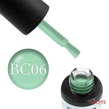 Гель-лак Naomi Boho Chic BC 06 дымчато-зеленый, 6 мл