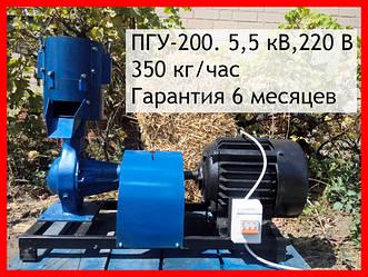 Гранулятор комбикорма ПГУ, матрица 200 мм, 350кг/час, 5,5 кВт, 380 В