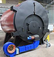 Котёл твердотопливный КВТ 0,25а с автоматической загрузкой топлива (250кВт) Денасмаш