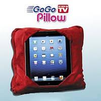 Подушка подставка go go pillow, подушка подставка гоу гоу пиллоу go go pillow