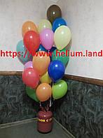 Портативный баллончик с гелием + шарики в подарок