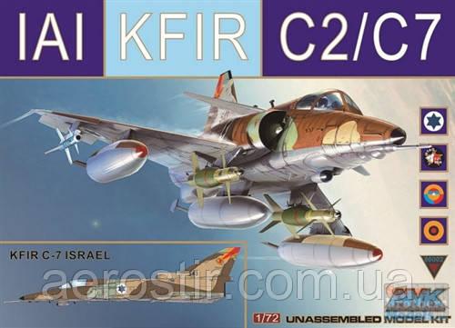 IAI KFIR C2/C7 1/72 AMK 72002