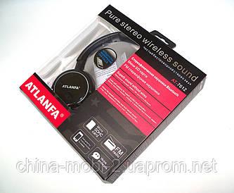 Беспроводные наушники ATLANFA AT-7612 с Bluetooth, MP3 и FM