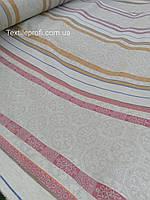 """Льняная умягченная ткань для полотенец """"Майолика"""" (шир. 195см)"""