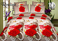 Постельное белье «Белла Роза» 3D
