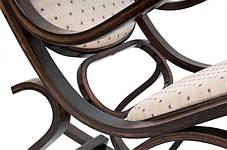 Кресло качалка PBT Group  темное ткань точки , фото 3