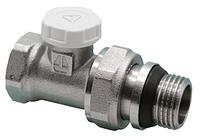 Кран HLV для радиаторов под ключ прямой 1/2'' (107010) шт