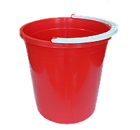 Ведро круглое пищевое 7 литров Красный